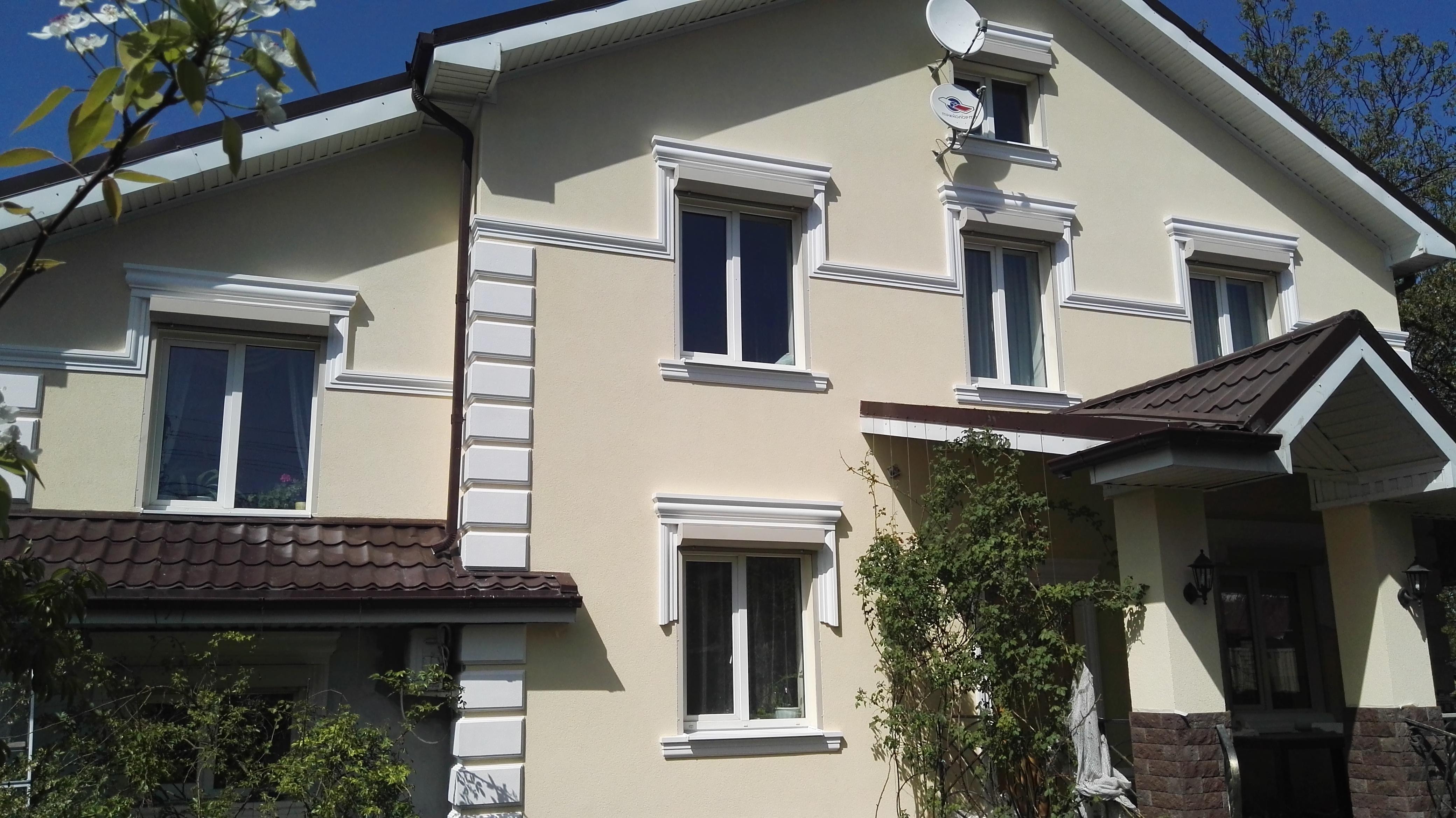 Природный камень отделка фасада дома фото