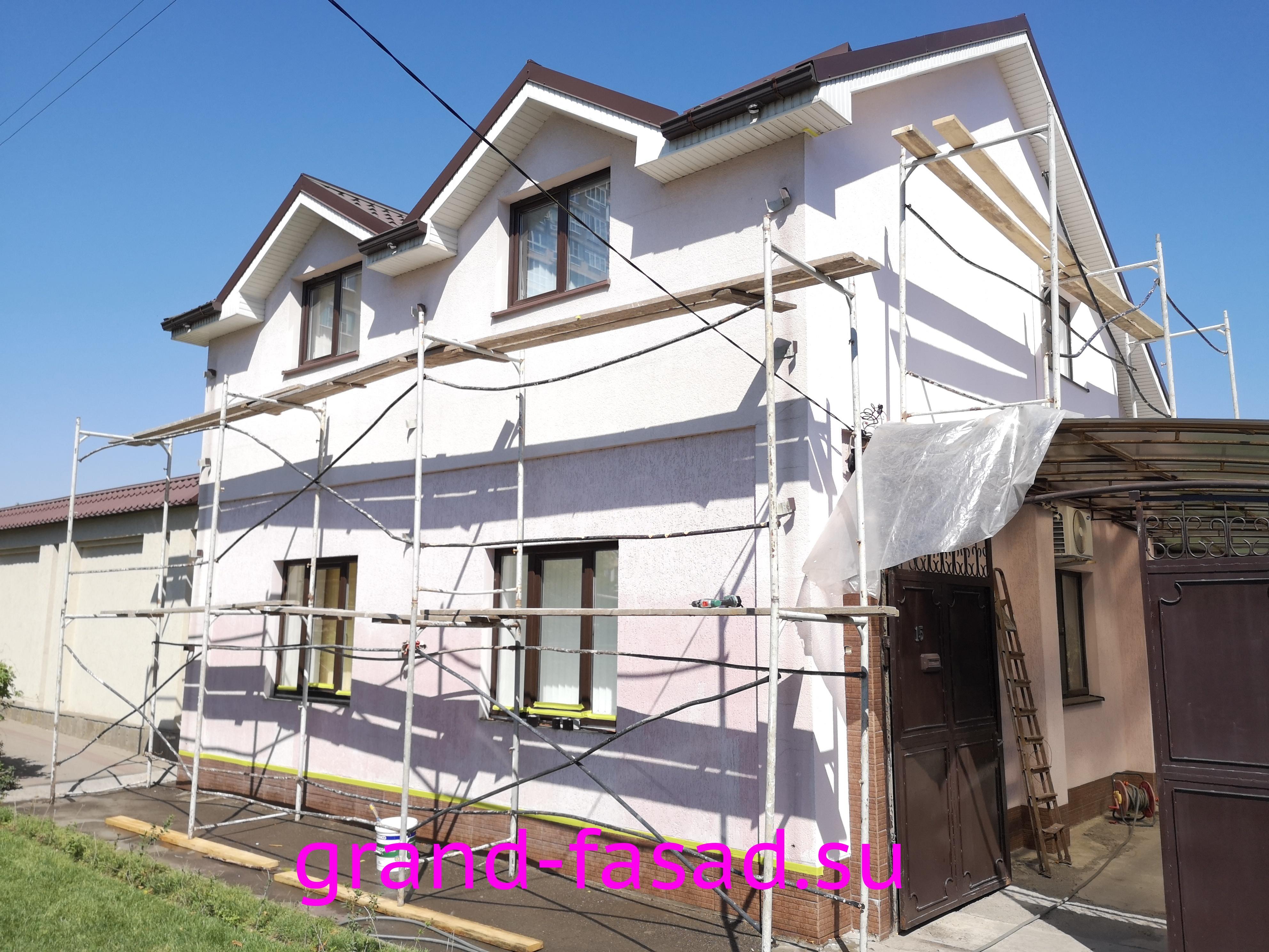 6b99299db80fe Покраска фасада частного дома в Ростове-на-Дону