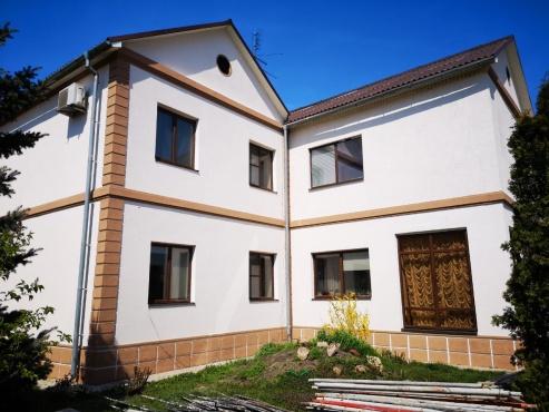 Покраска фасада дома минск