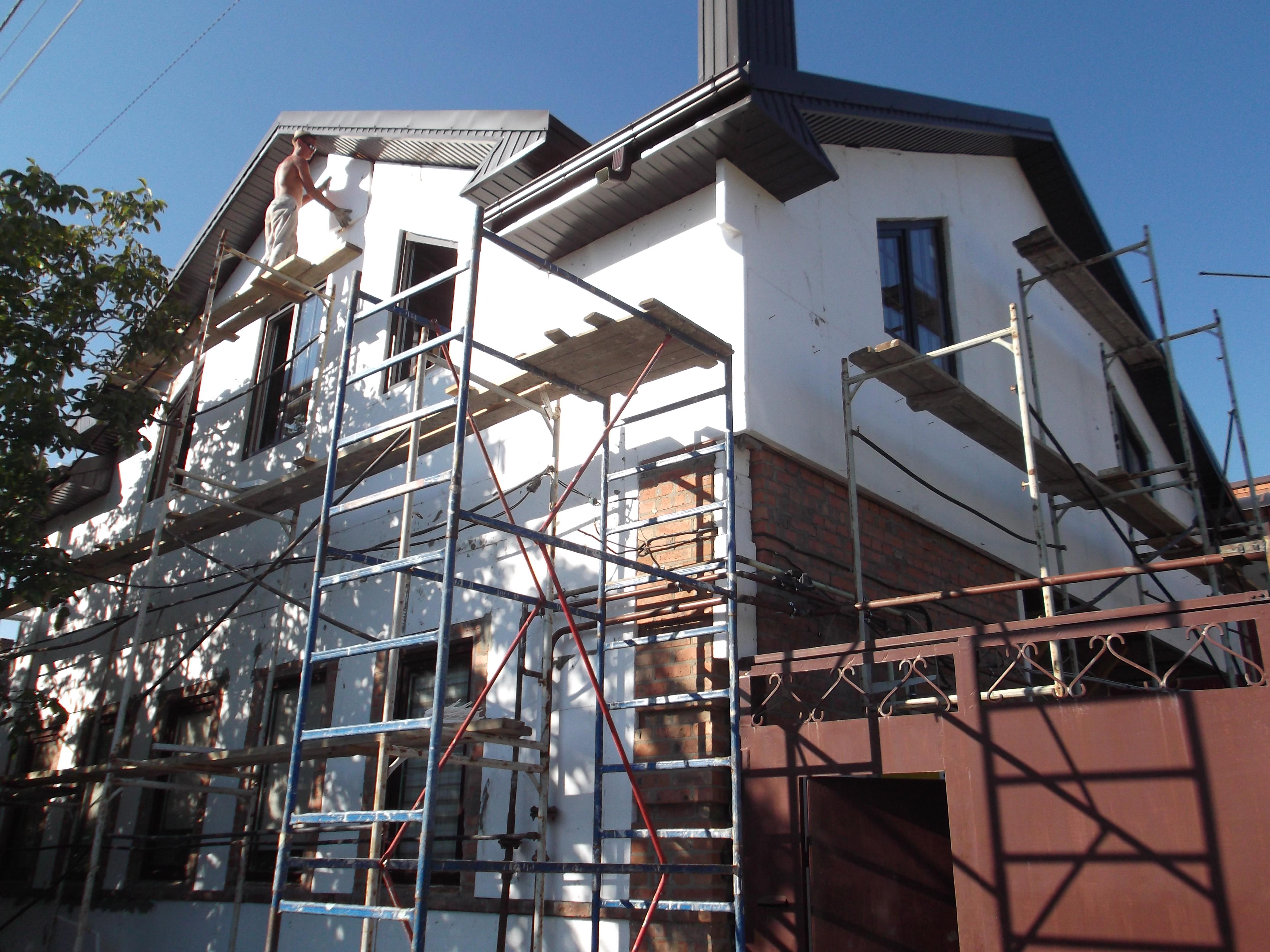 Варианты отделки сайдингом фасадов домов